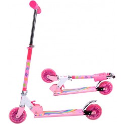 Johntoy Sportline Scooter Roze