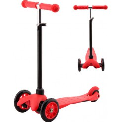 Johntoy Sports Active City Tri-scooter Rood