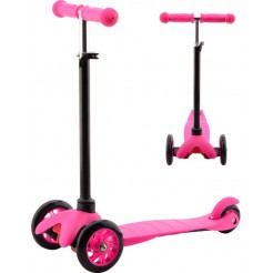 Johntoy Sports Active City Tri-scooter Roze